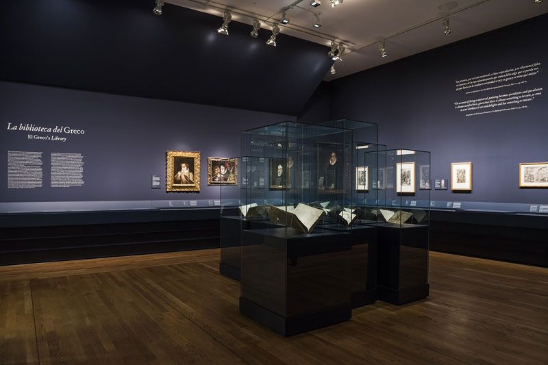 Exposición de la biblioteca del Greco | Foto: Museo del Prado
