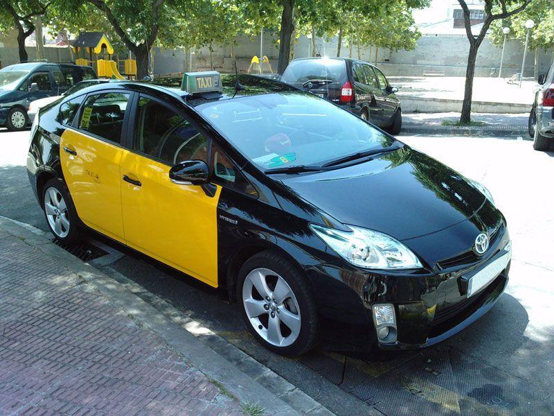 Taxi en Barcelona   Fuente: Wikipedia