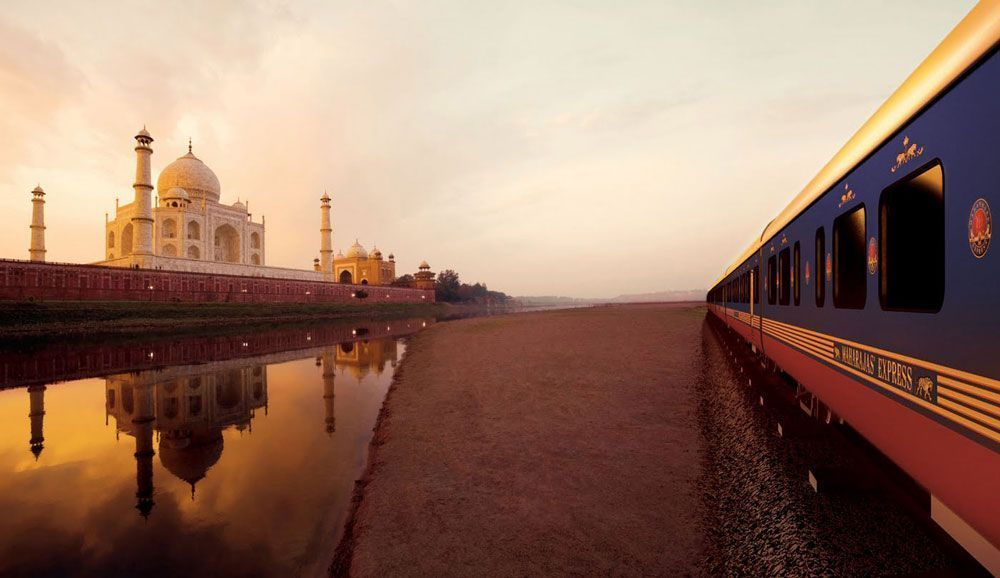 El tren Maharaja's Express, un viaje a través de la India | Foto: Maharaja's Express