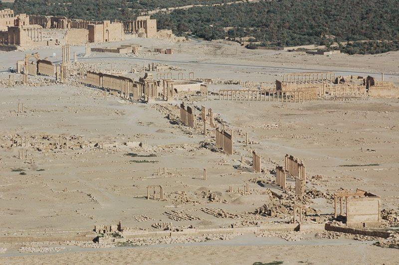 Ruinas de Palmira en Siria | Foto: Ron van Oers, para UNESCO