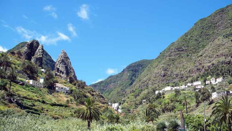 Sabrá el Gobierno conciliar turismo y recursos más allá de la playa | Foto: Hermigua (La Gomera), por David Fernández