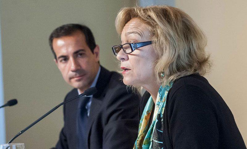 Ana Isabel Mariño, consejera de Turismo de Madrid, y Salvador Victoria, portavos del gobierno madrileño | Foto: Comunidad de Madrid