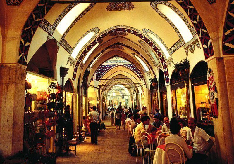 Pasillo del Gran Bazar en Estambul | Foto: Turismo de Turquía
