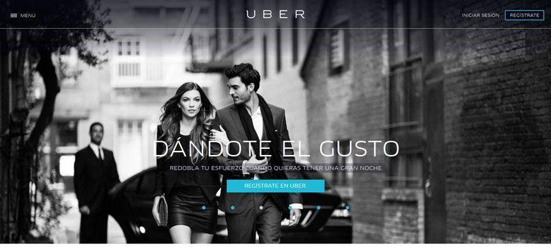 Web de Uber