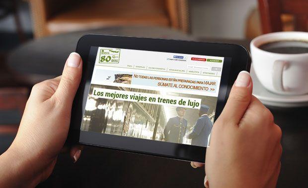 Revista80dias VIP en la tableta
