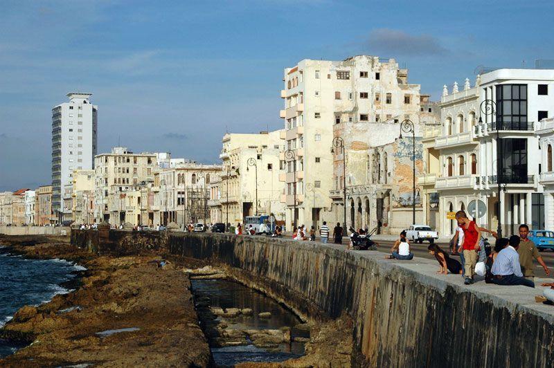 El Malecón de La Habana (Cuba) | Foto: Wikimedia