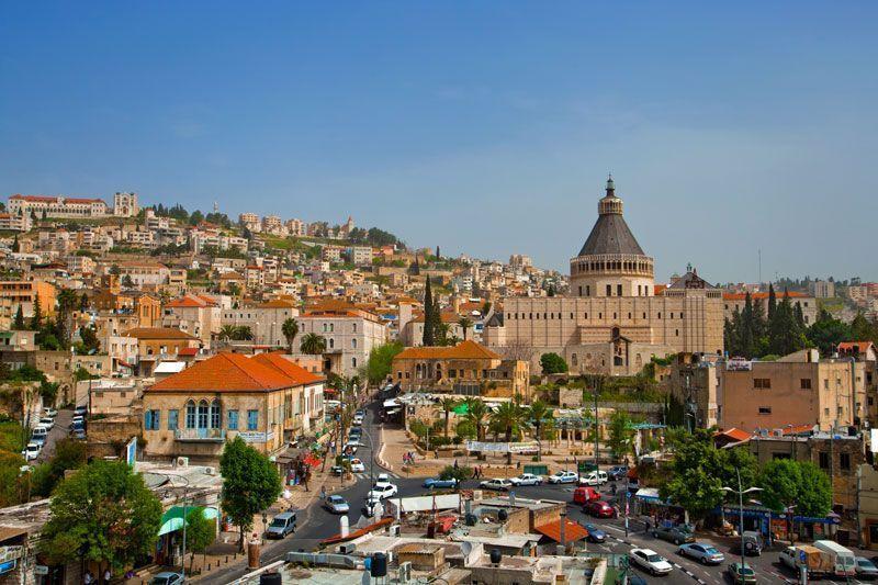 Basílica de la Anunciación en Nazaret | Foto: Daphna Tal para Turismo de Israel