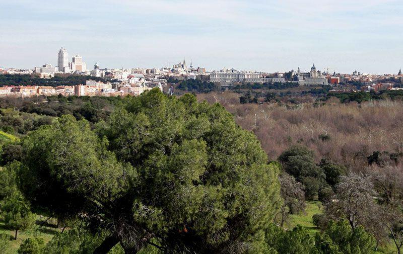 Madrid visto desde la Casa de Campo | Foto: Rubén Pérez en Flickr