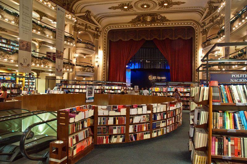 Libreria el Ateneo en Buenos Aires (Argentina)