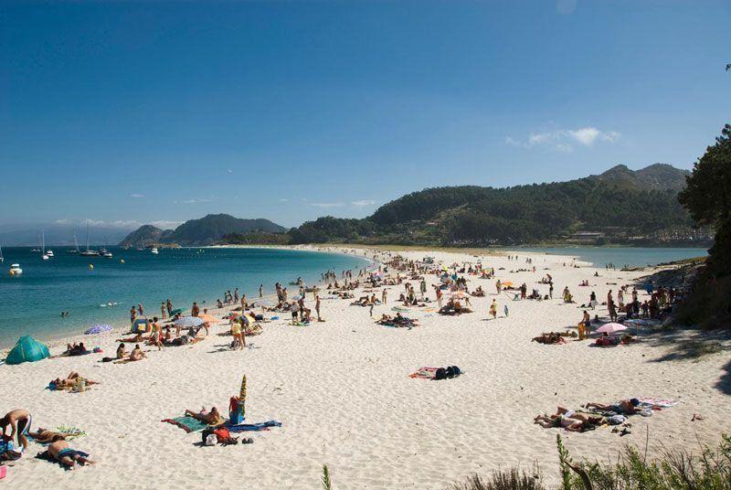 Islas Cíes en Gaicia | Foto: Turismo Rías Baixas, Diputación de Pontevedra
