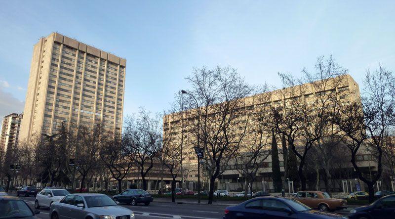 Sede del Ministerio de Industria, Energía y Turismo en el Paseo de la Castellana de Madrid | Fuente: Wikipedia