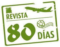 Logotipo Revista80dias