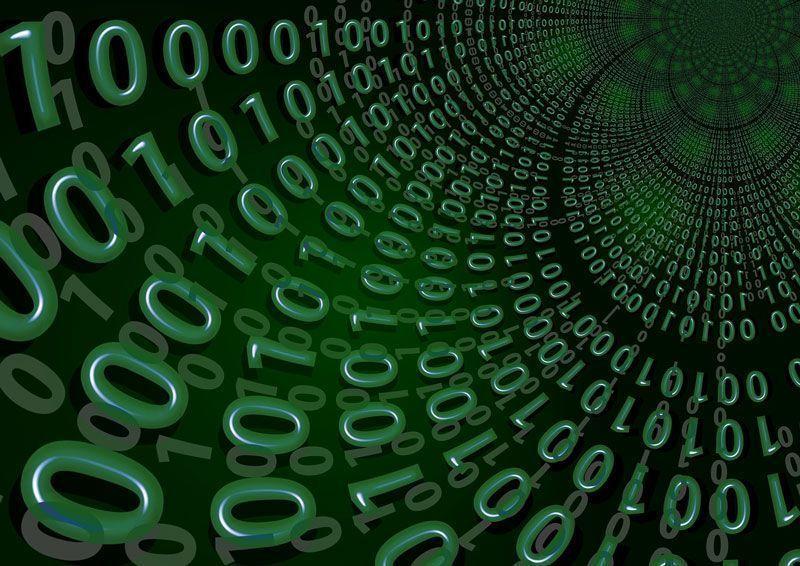 Cero y unos componen los datos que quiere interpretar el 'big data' | Foto: Geralt en Pixabay