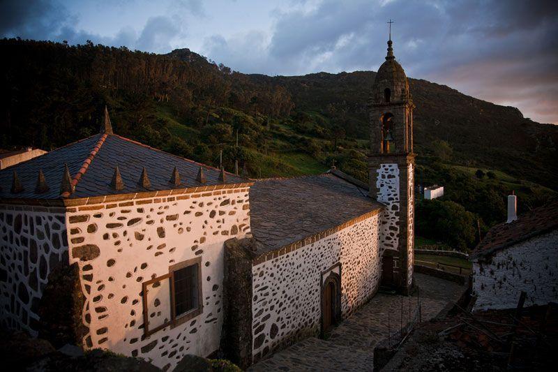 Atardece en San Andrés de Teixido | Foto: Turgalicia