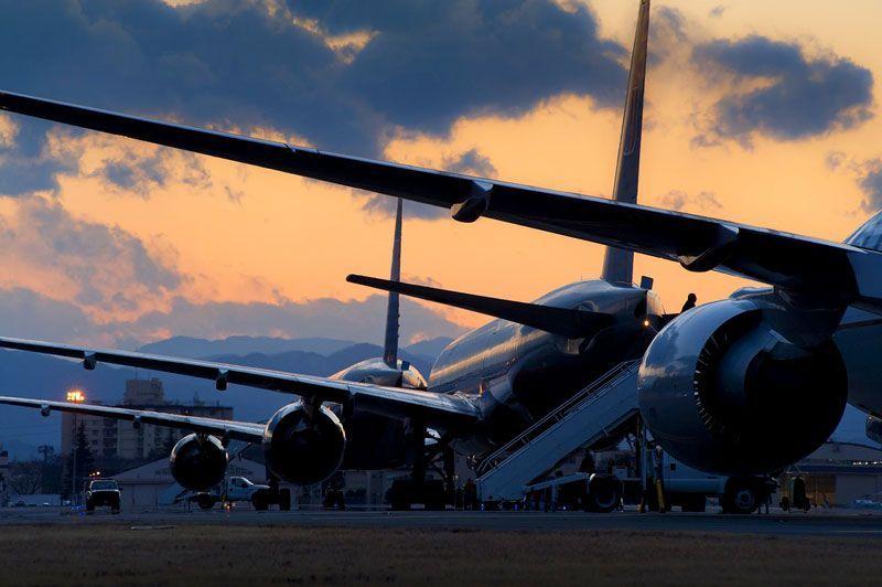 Aviones estacionados en el parking | Foto: skeeze para Pixabay