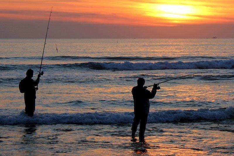 Pescadores en una playa de Cádiz | Foto: pitisawa en Pixabay