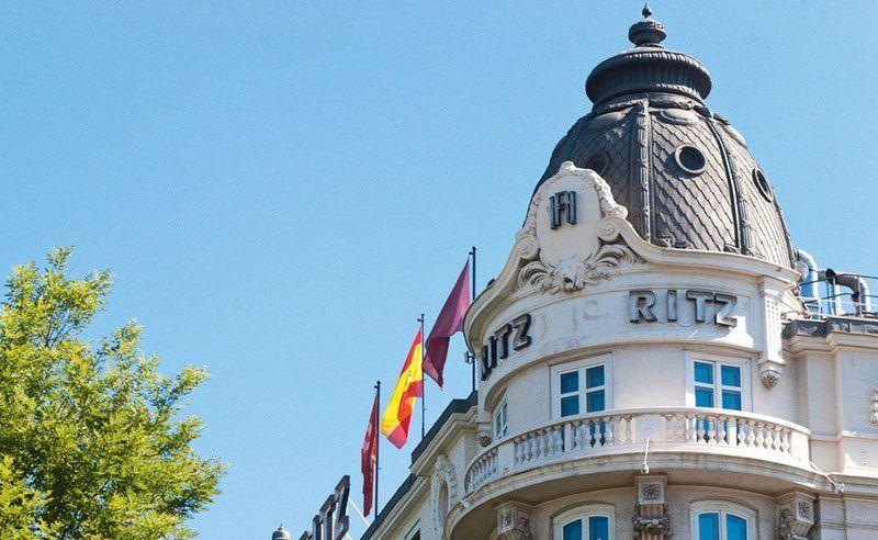 Fachada del Hotel Ritz ed Madrid | Foto: Hotel Ritz
