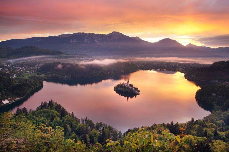 Isla en el Lago de Bled | Foto: Bled Turismo