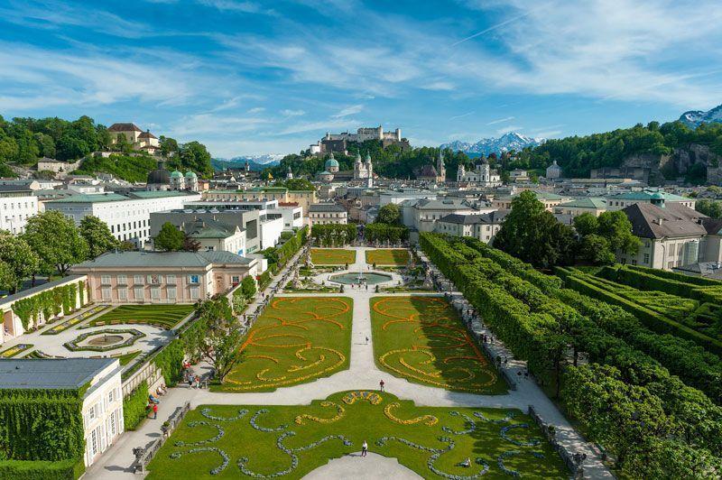 Los jardines del Palacio de Mirabell   Foto: Turismo de Salzburgo