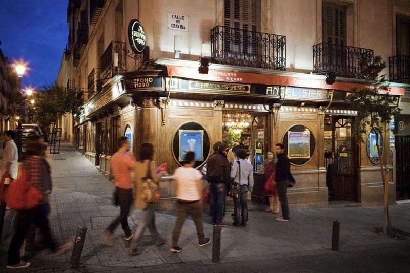 Calle Gravina de Madrid | Foto: Madrid Destino
