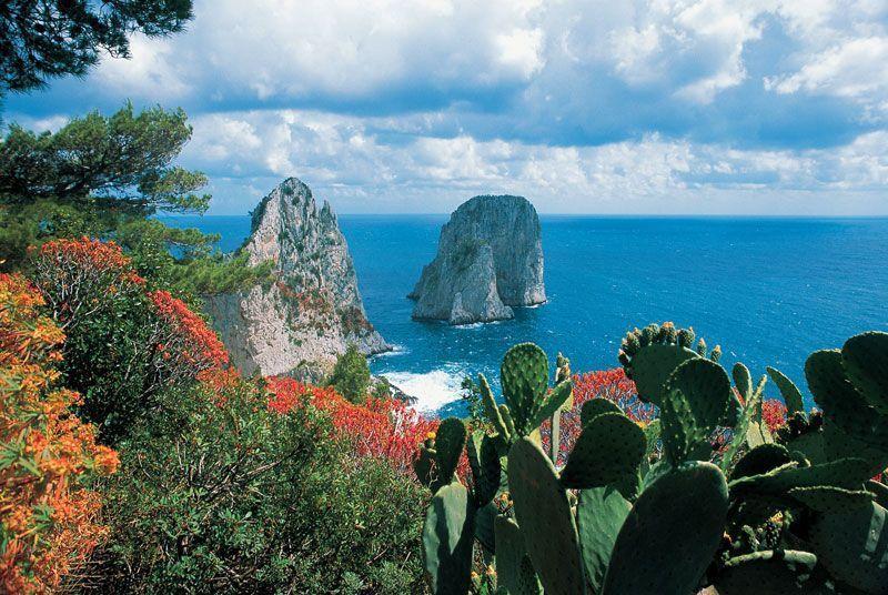 Los gigantes de Capri | Foto: Turismo de Capri