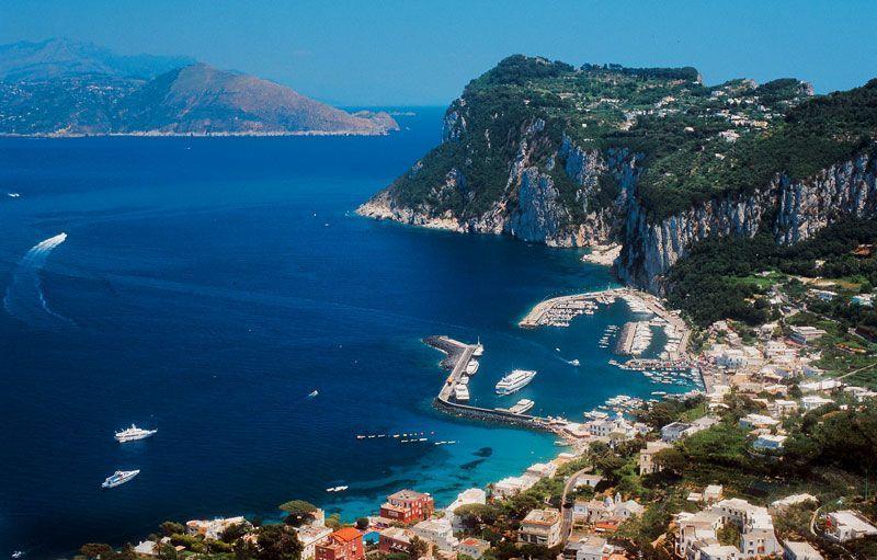 Panorámica de Capri | Foto: Turismo de Capri