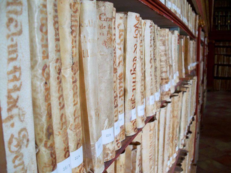 Biblioteca del Monasterio de Yuso | Foto: David Fernández