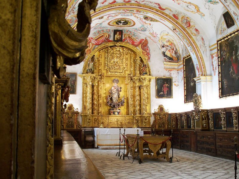 Sacristía del Monasterio de Yuso | Foto: David Fernández