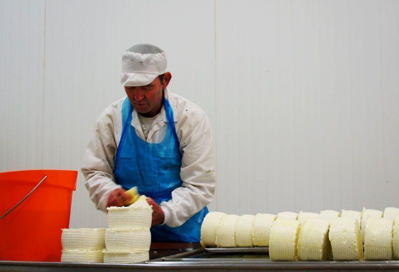 Los baños de aceite mantienen el moho del queso en niveles aceptables | Foto: Beatriz de Lucas para Viajesdeprimera.com
