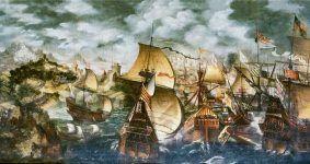 El náufrago de la Gran Armada, de Fernando Martínez