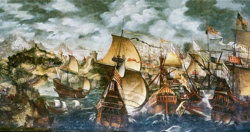 La Armada Invencible, pintura de Nicholas Hilliard
