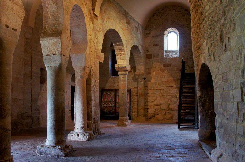 Interior del Monasterio de Suso | Foto: Beatriz de Lucas Luengo