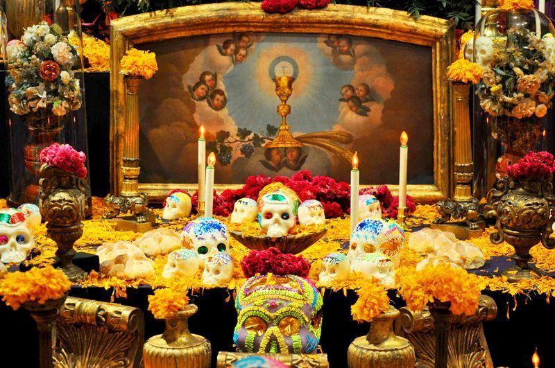 Altar de Muertos en Querétaro (México)