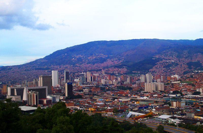 Vista de Medellín | Foto: David Fernández