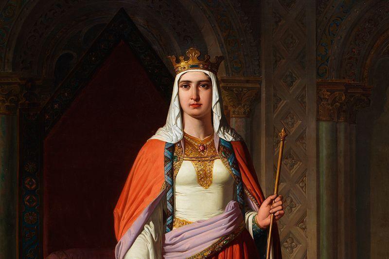 La infanta doña Urraca, reina de Zamora