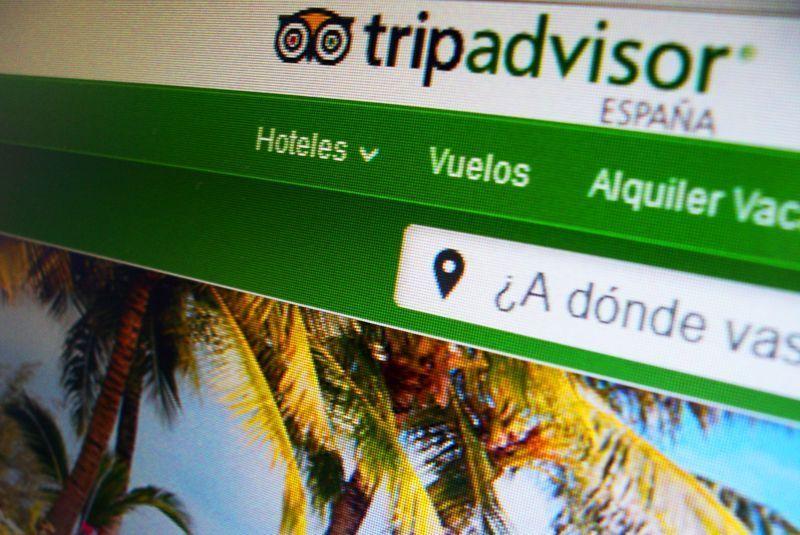 Página principal de Tripadvisor España