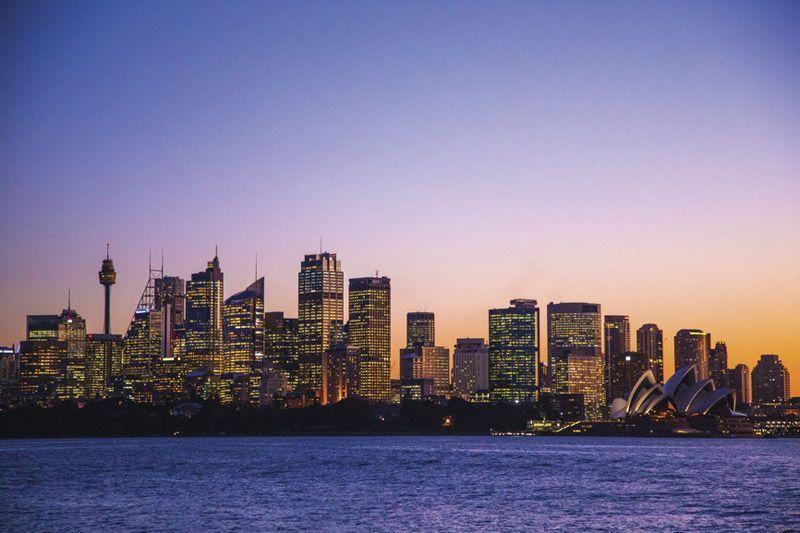 Torre de Sidney (derecha) - Foto de ONT Australia