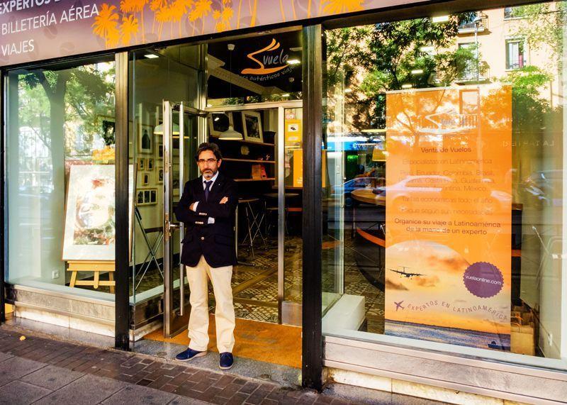Carlos Sánchez, director de Vuela Café
