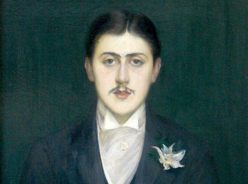 Marcel Proust por J. E. Blanche