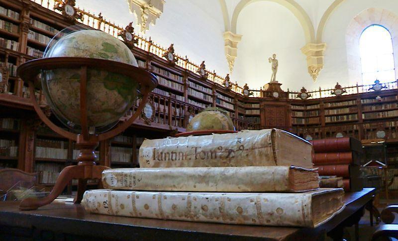 Biblioteca de la Universidad de Salamanca | Foto: Beatriz de Lucas Luengo