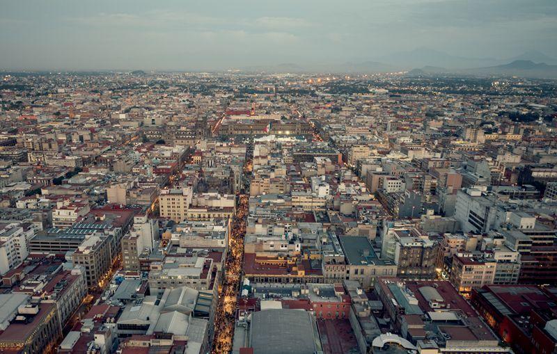 Amanece en la ciudad de México | Foto: Turismo Ciudad de México