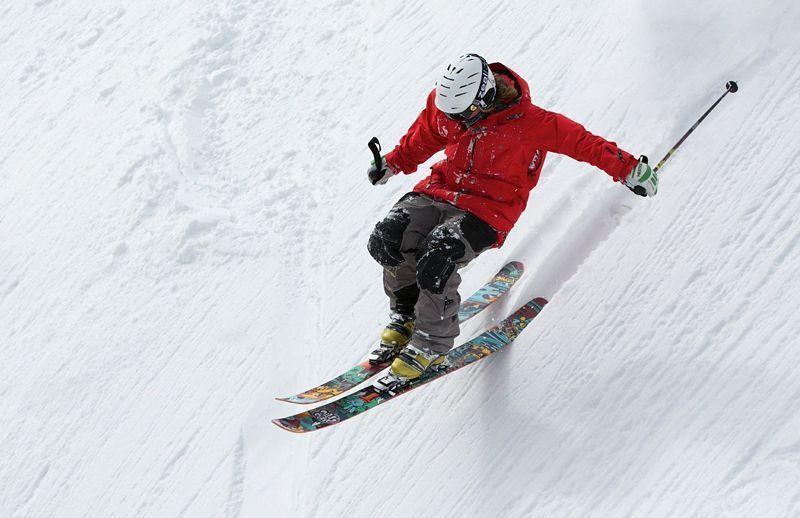 Esquí en estilo libre | Foto: Up-Free para Pixabay