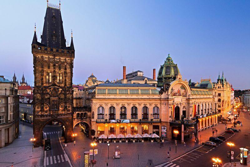 Casa Municipal en Praga | Foto: Pavel Hroch para Oficina de Turismo de República Checa