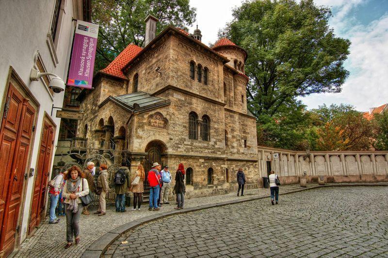 Sinagoga en Praga | Foto: Irena Brožová para la Oficina de Turismo de la República Checa