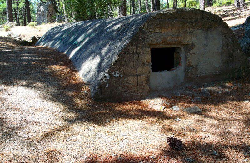 Refugio para tropa en la Ruta de las Trincheras | Foto: David Fernández