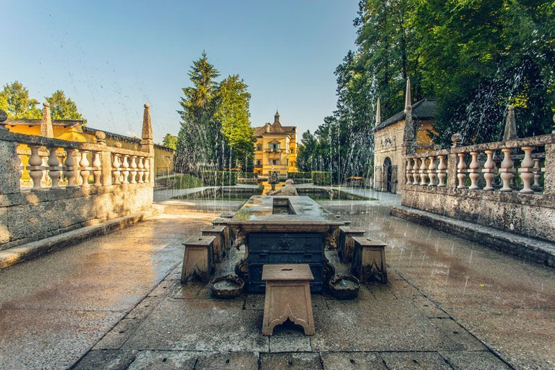 Los juegos de Hellbrunn-foto de ONT Salzburgo