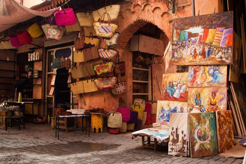 Medina en Marrakech - foto ONT