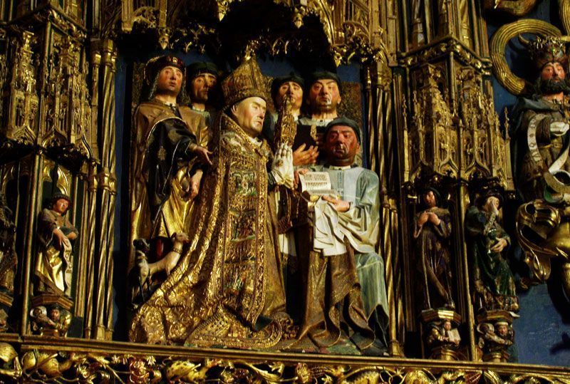 Qué ver en Burgos: retablo de la Capilla de la Natividad en la Catedral de Burgos