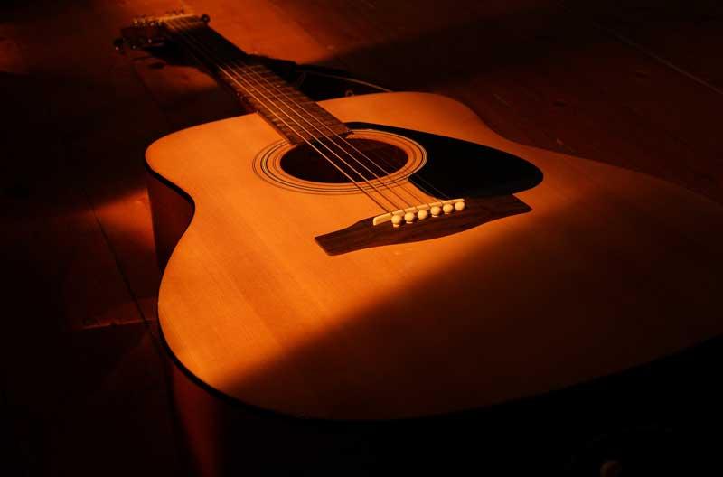 Guitarra española | Foto: aromavit para Pixabay