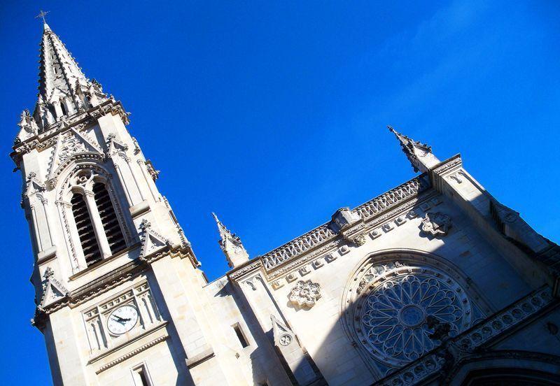 Fachada de la catedral de Bilbao | Foto: David Fernández